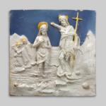 Il Battesimo di Cristo Buglioni 1520