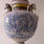 Stagnone maiolica Savona o Albisola XVIII