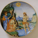 Il Battesimo di Cristo - Fontana Urbino XVI