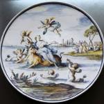 Sottocoppa in ceramica Agostino Ratti
