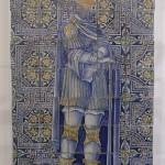 Eroe romano Museo della ceramica sec.XVI