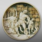 Coppa Laocoonte Urbino 1530 c.a.